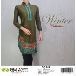 RIDA AQEEL Embroidered Kutri