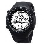 Haroonia Traders Digital Sports Watch - 50M - Black